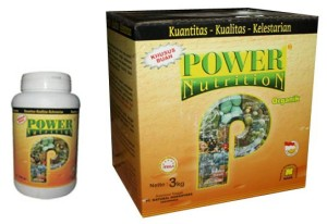 Kemasan Power Nutrition Nasa